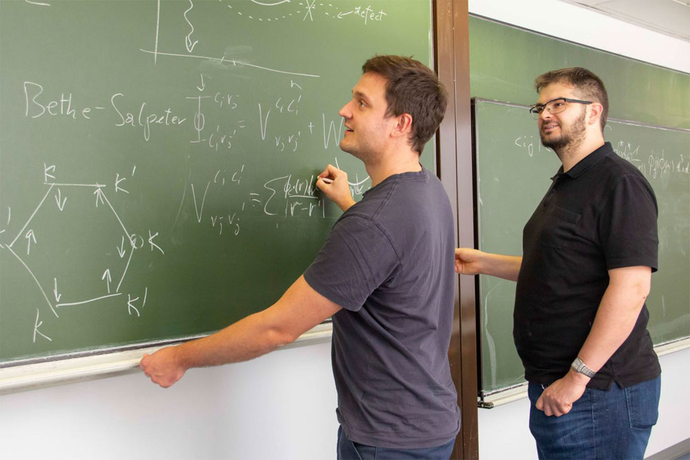 Lukas Linhart (l) and Florian Libisch (r). Courtesy of TU Wien.