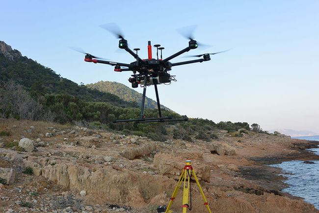Purdue researchers used drones and lidar mapping systems to better understand the history of Dana Island, located off the southern coast of Turkey. Courtesy of Purdue University.