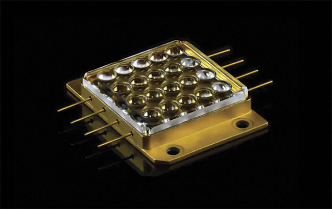 One of the multilaser pack devices used in Christie's RGB laser projector systems. Courtesy of Christie Digital Systems