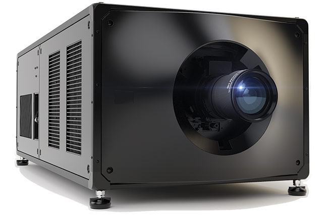The latest generation of RGB projectors from Christie can present 4K resolution at a rate of 120 fps. Courtesy of Christie Digital Systems.