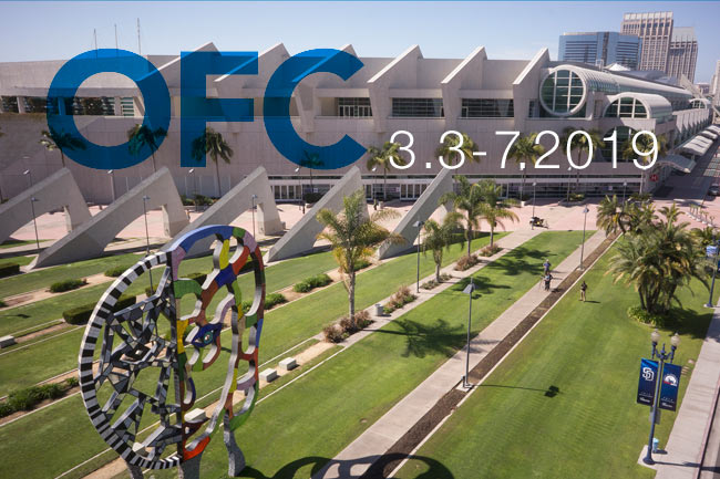OFC 2019 San Diego Convention Center