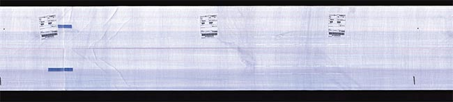 An inspected roll of paper ready for use by the consumer. Courtesy of Teledyne DALSA.