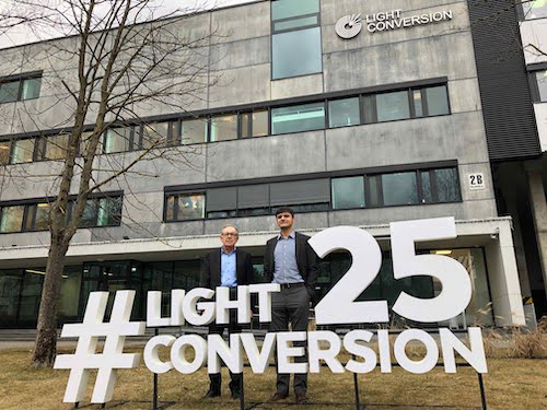 Light Conversion offices in Lithuania