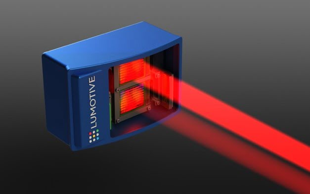 Lumotive's LiDAR System for autonomous vehicles: The beam steering leverages liquid crystal metasurfaces™ and semiconductor manufacturing to improve performance, reliability and cost.