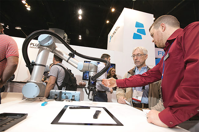 More than 500 leading manufacturers and systems integrators are registered as exhibitors for 2019. Courtesy of Automate.