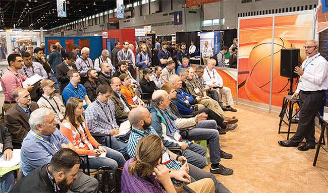 Approximately 12,960 people attended Automate 2017. Courtesy of Automate.