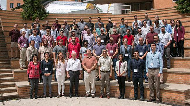 Participants from AIM Summer Academy 2018. Courtesy of Denis Paiste, Materials Research Laboratory, MIT.