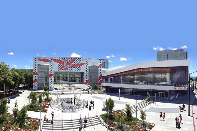 San Jose McEnery Convention Center. Photo courtesy of San Jose Convention & Visitors Bureau.