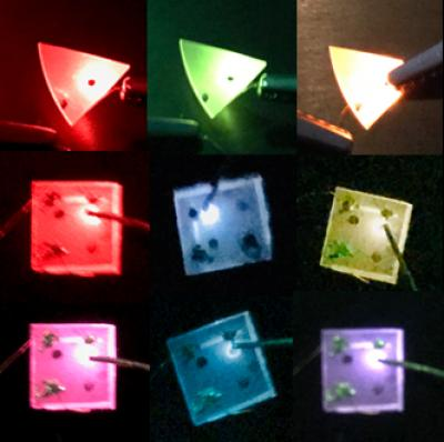 Simple color tuning of GaN-based LEDs, West Chester University, Lehigh University.