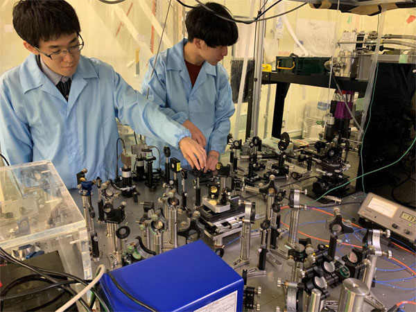 Quantum interferometry used to determine process for coherent phonon generation, Tokyo Institute of Technology.