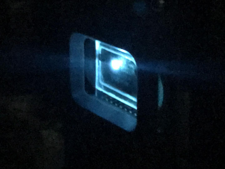 Organic laser diode emitting blue light, Kyushu University.