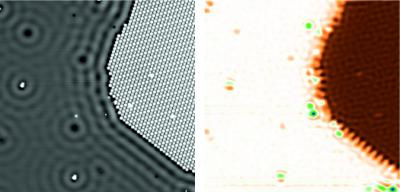 Quantum dot microscope shows electric potential of individual atoms, Forschungszentrum Jülich.