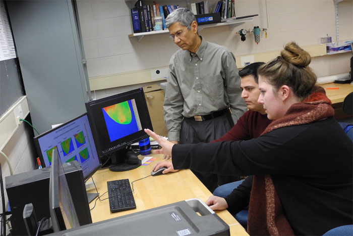 RIT and RRHS are developing IR imaging technology to detect breast cancer.
