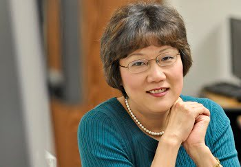 Hanli Liu, professor of bioengineering at the University of Texas at Arlington, focuses her research on near-infrared light delivery to the brain. Courtesy of The University of Texas at Arlington