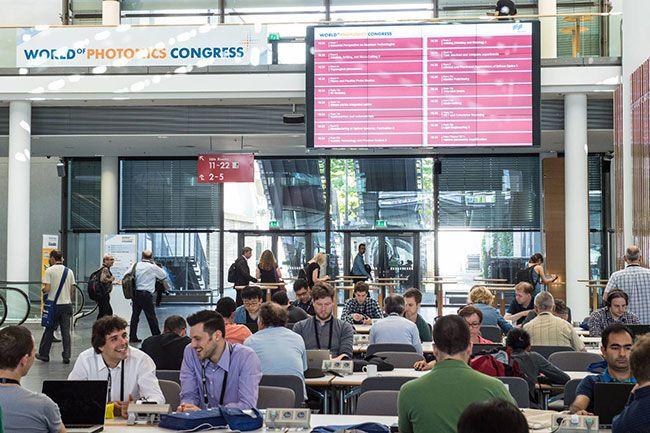 World of Photonics Congress West Entrance