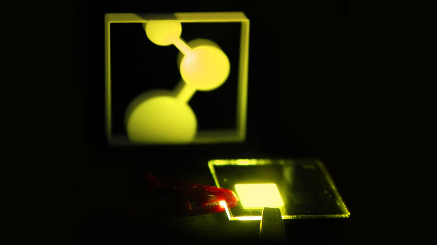 Single-Layer OLED Design Could Lead to Printed Displays