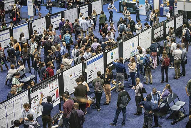 Neuroscience 2019 will host over 50 symposia and minisymposia on a wide range of topics. Courtesy of Joe Shymanski/Society for Neuroscience.
