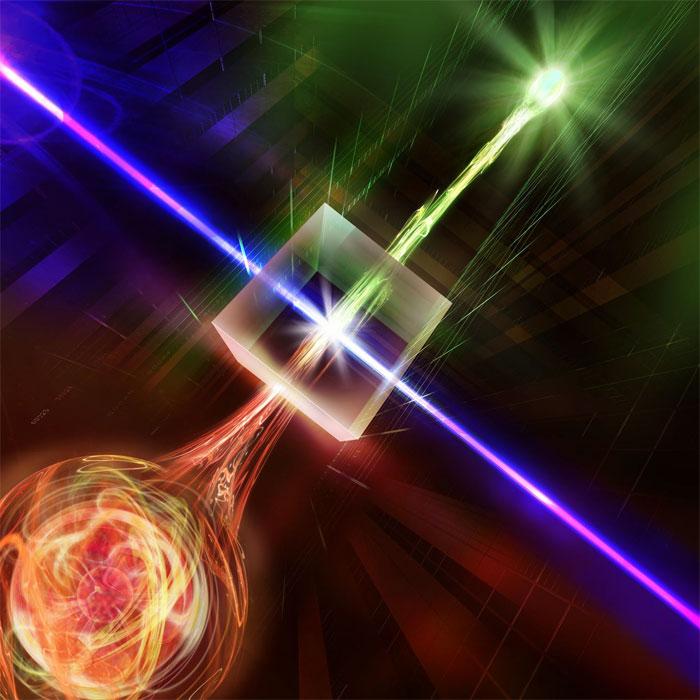Quantum entanglement between light and matter sent over 50 km of optical fiber, University of Innsbruck.