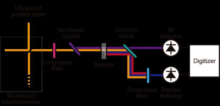 Complementary vibrational spectroscopy, University of Tokyo, Takuro Ideguchi.