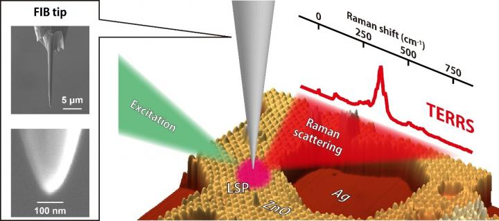 Tip enhanced resonanance Raman spectroscopy, Takashi Kumagai, Fritz-Haber Institute.