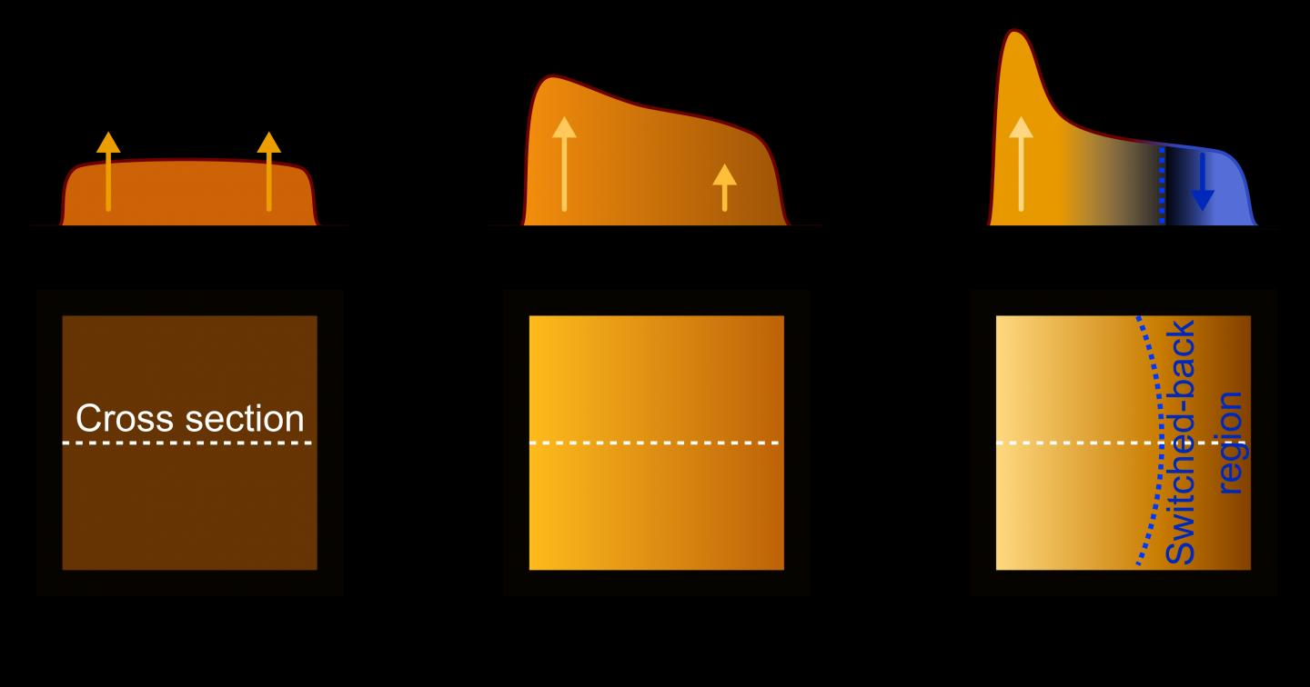 Self-heating in OLEDs causes luminance to decrease, TU Dresden, WIAS.
