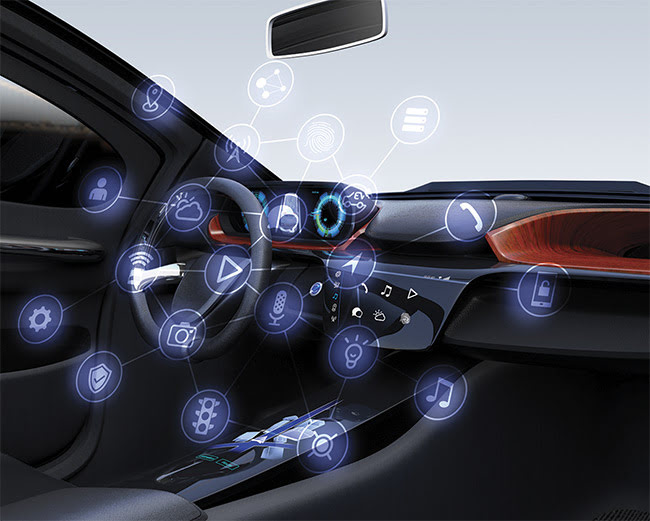 3D sensing could help provide access to a variety of functions and capabilities involving safety and comfort, with access enabled by advanced automotive electronics. Courtsey of II-VI.