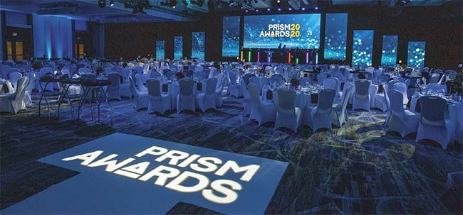 The Prism Awards took place on Feb. 5 during SPIE's annual Photonics West conference. Courtesy of Joey Cobbs Photography.