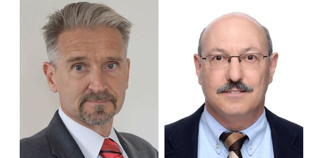 Co-editors-in-chief Hans Zappe and Harry J. Levinson. Courtesy of SPIE.