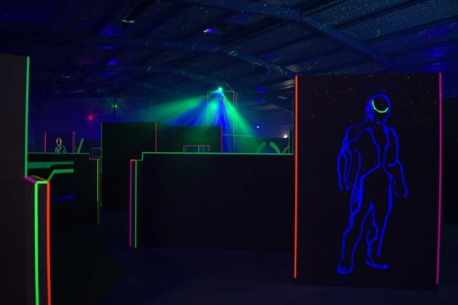 Laser Tag was invented by George Carter III after he was inspired by the lasers in Star Wars. Courtesy of Shutterstock.