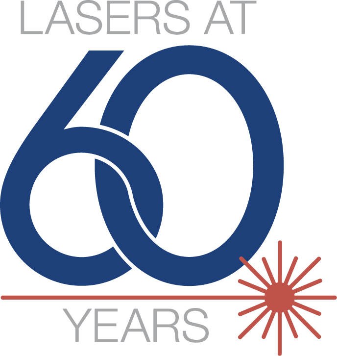 60th anniversary of the laser_Photonics Media icon.