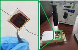 Humidity sensor combining variable filter and solar cells. Courtesy of Junsuk Rho, POSTECH.