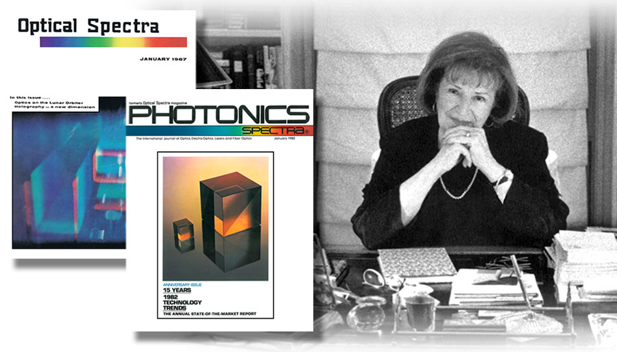 Laurin Publishing founder and CEO Teddi Laurin published the first issue of Optical Spectra magazine in 1967.