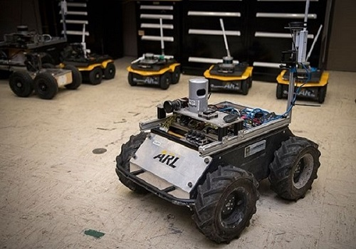 A small unmanned Clearpath Husky robot, which was used by ARL researchers to develop a new technique to quickly teach robots novel traversal behaviors with minimal human oversight. Courtesy of US Army.