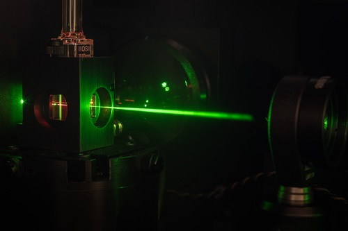 Measuring set-up for the investigation of photophysical properties, e.g. of copper complexes. Courtesy of Martin Schulz.