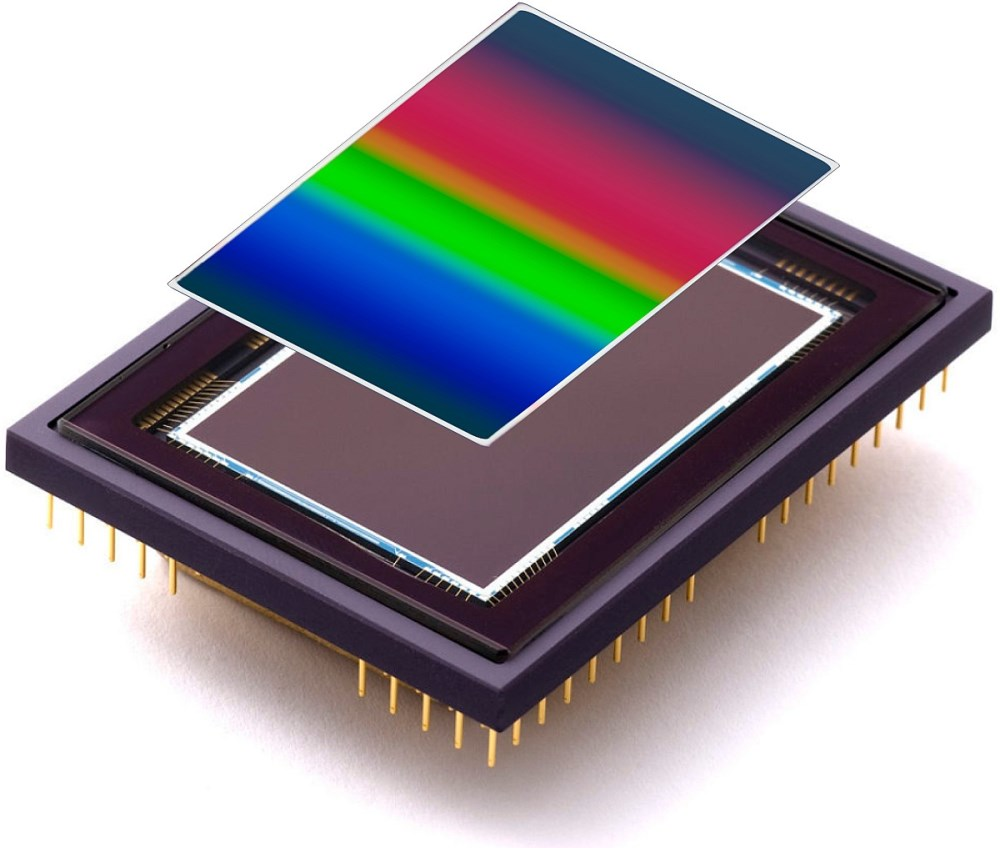 Variable Bandpass Filter for Hyperspectral Imaging