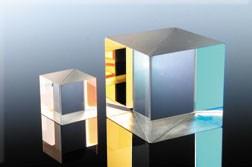 Partial Reflectance Cube Beamsplitter