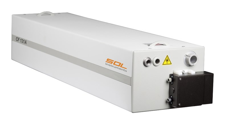 Tunable Pulsed Ti:Sa Laser CF131