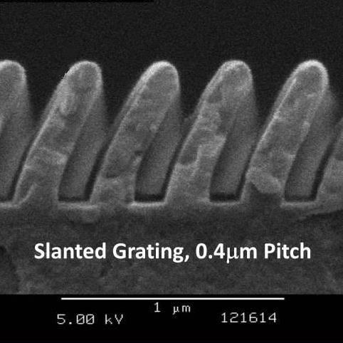 Custom Slanted Gratings