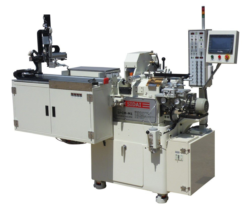 SPCM-M1-AT50 Automatic Centering Machine with Robot