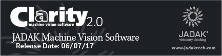 Clarity 2.0 Machine Vision Software