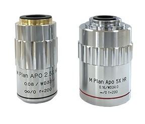 M Plan APO HR Series Objective Lenses
