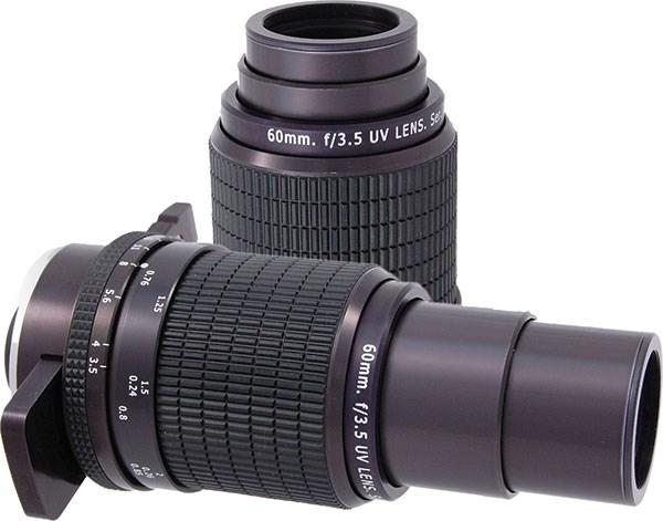 60mm f/3.5 UV Forensic Lens