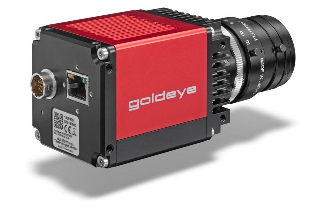 Goldeye G-033 SWIR TECless