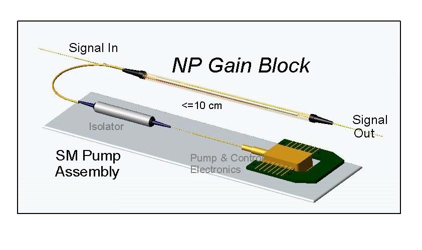 Short-Length Fiber Amplifier
