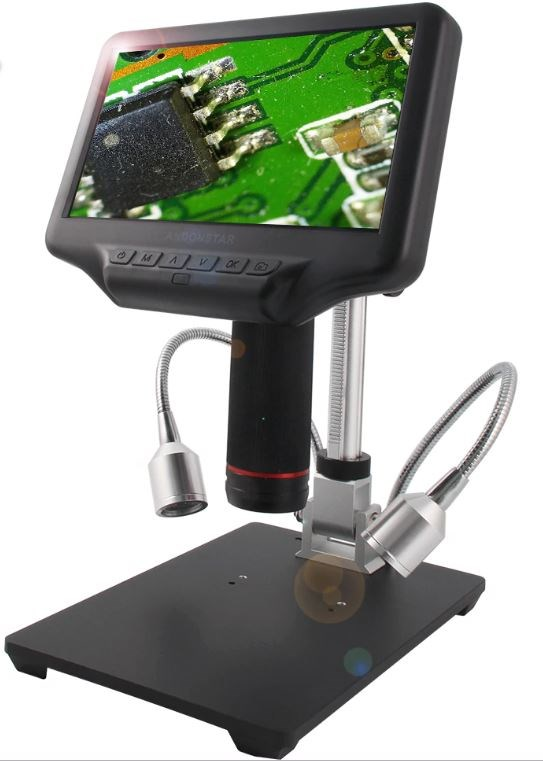 Vividia HM-407 Manual Focus Microscope