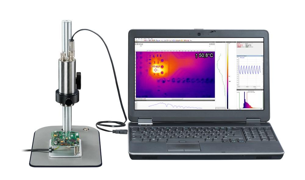 optris Xi 400 IR Microscope