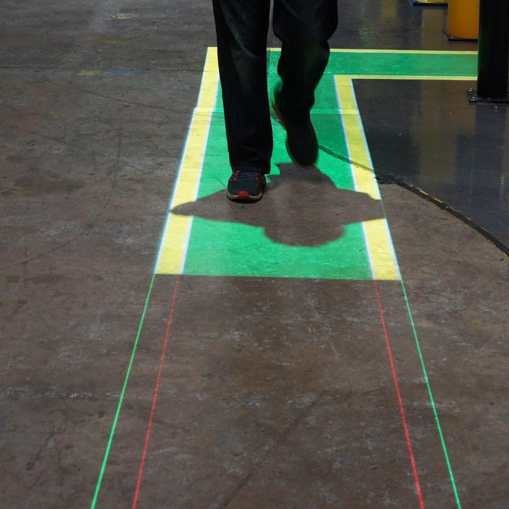 Walkway and Lane Demarcation Lasers