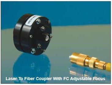 Laser-to-Fiber Coupler: Adjustable Focus