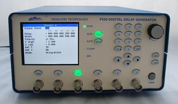 P500 Digital Delay and Pulse Generator