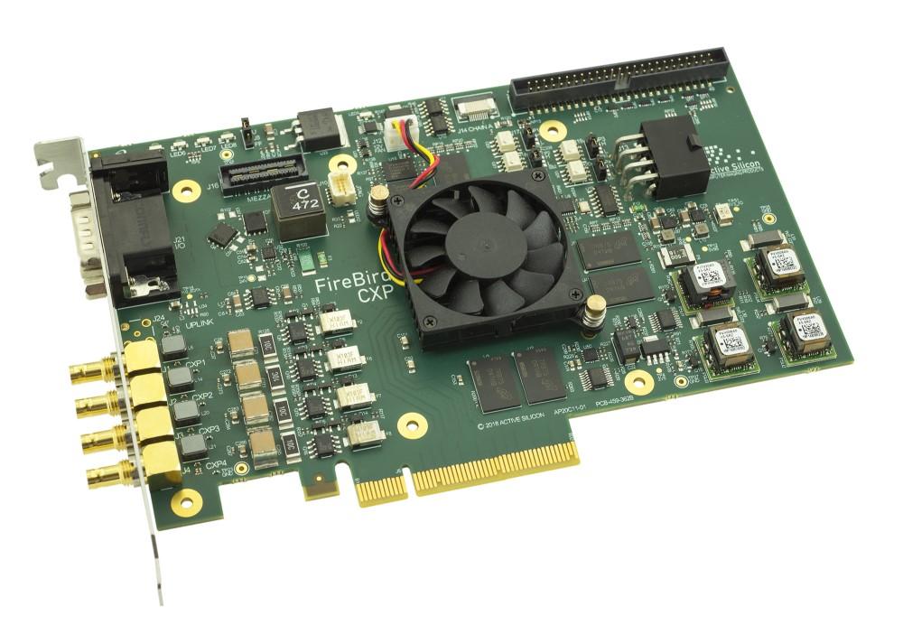 FireBird CoaXPress Frame Grabber (4xCXP12-3PE8)